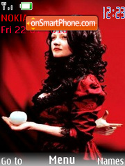 Meg white 01 Theme-Screenshot