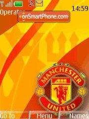 Manchester United 2015 theme screenshot