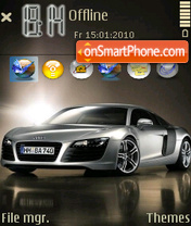 Audi R8 07 theme screenshot