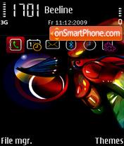 Capture d'écran Painter FP1 SI thème