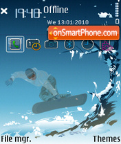 Extreme 01 tema screenshot