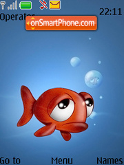 Nemo Fish theme screenshot
