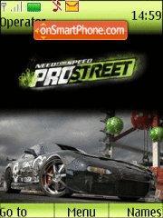 Need For Speed Pro Street theme screenshot