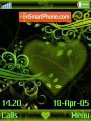 Green Love es el tema de pantalla