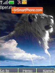 Lion theme screenshot