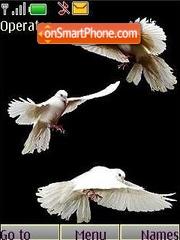 Pigeon tema screenshot