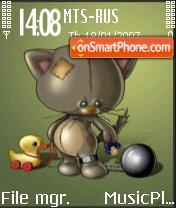 Crazycat theme screenshot