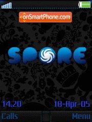 Spore Black es el tema de pantalla