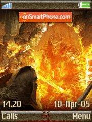 The Elder Scrolls4 oblivion es el tema de pantalla
