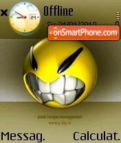 Angry smile es el tema de pantalla