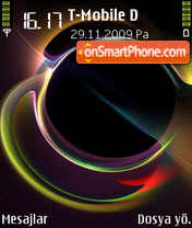 Rainbow Ocean 01 theme screenshot