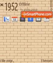 Wall 02 theme screenshot