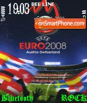 Euro 2008 theme screenshot