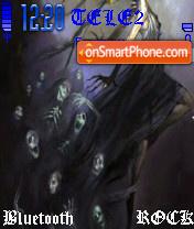 Fear theme screenshot