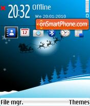 Christmas 07 theme screenshot