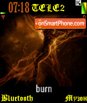 Burn theme screenshot