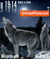 Wolf theme screenshot