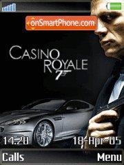 Скриншот темы Casino Royale
