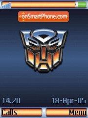 Transformers v2 es el tema de pantalla