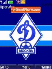 FC Dinamo Moskow theme screenshot