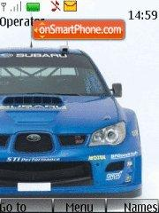 Subaru WRX STI theme screenshot