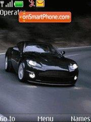 Aston Martin DB9 tema screenshot