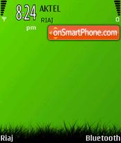 Скриншот темы Green Bug
