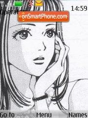 Paradise Kiss theme screenshot