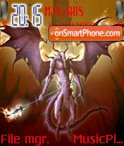 Demon theme screenshot