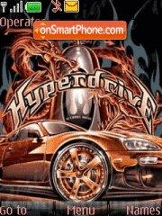 Hyper Drive 01 tema screenshot