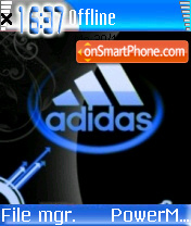 Animated Adidas 02 theme screenshot