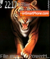 Tiger S60 es el tema de pantalla