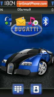 Bugatti 10 theme screenshot