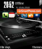 Music Mixer theme screenshot
