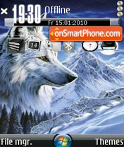 Wolf 03 theme screenshot
