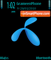 Grameen phone Logo theme screenshot