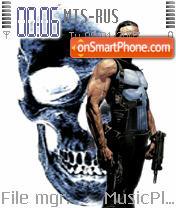 The Punisher Theme es el tema de pantalla