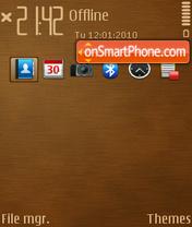 Wooden Stripe ( T7 ) theme screenshot