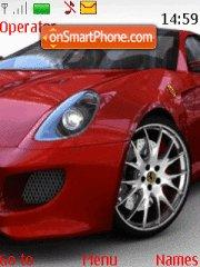 Ferrari Fiorano theme screenshot