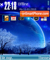 Winter 11 theme screenshot