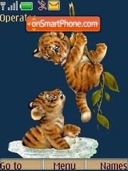 Tiger cub theme screenshot