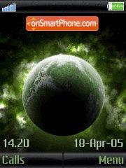 Green Planet tema screenshot