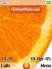 Orange v2 es el tema de pantalla