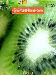 Clove kiwi es el tema de pantalla