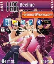 Disco Gurls 02 theme screenshot