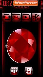 Ruby black cut theme screenshot