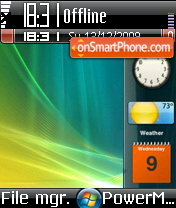 Vista 2010 Beta theme screenshot