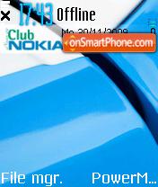 Club Nokia theme screenshot