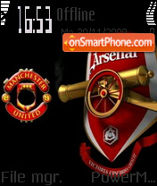 Arsenal 12 theme screenshot