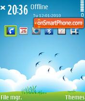Desire 01 theme screenshot